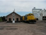 SCXY 1363, SCXY 1352, ADM Grain Mill, and SCXY Yard Office