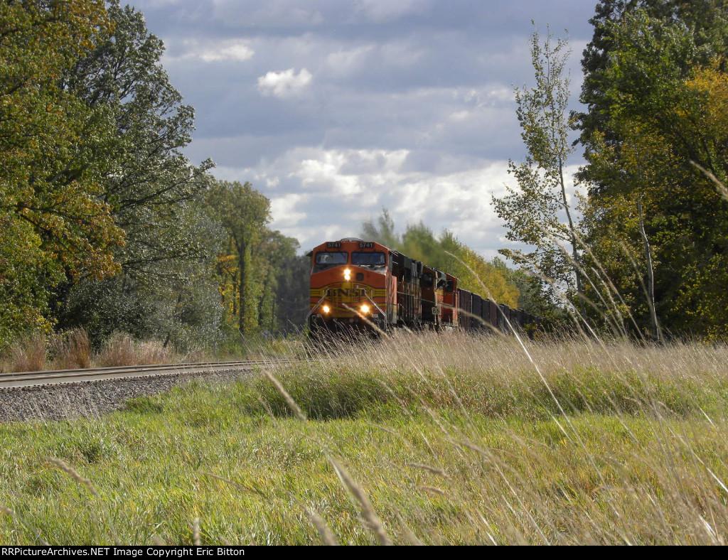 BNSF 5741 North