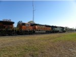 BNSF SD60M #8106 on BNSF 8160 South
