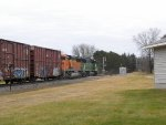 BNSF 8151 South with SD60M #8106