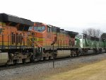 BNSF 7269 North with 6 Units and 39 cars