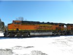 BNSF 7413 North with with a pair of GEVOs
