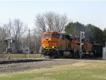 BNSF 6317 North w/great colors