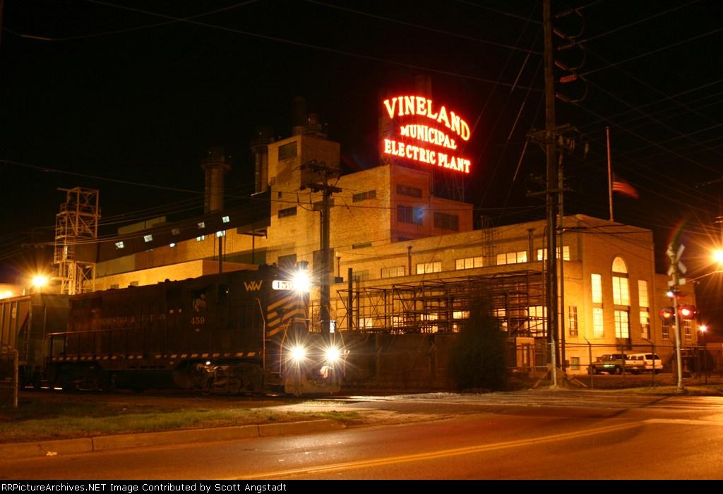 WW 459 passing Vineland Electric