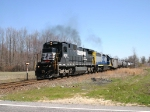 NS 8209 on WPCA-11 after dropping off cars for the SMS