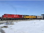 CP train 667 with CP 8752 and UP 8277