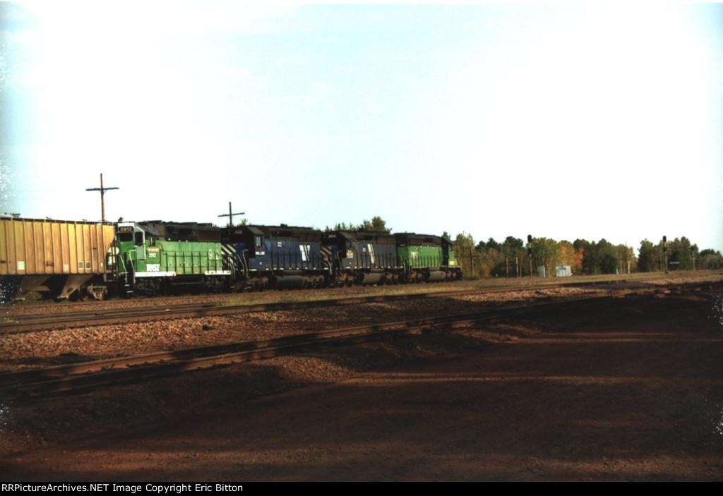 BNSF 7897 West