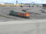 BNSF 3701 and 3702