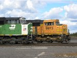 BNSF 9973 and 8182 Cab Shots