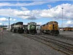 BNSF Line Up