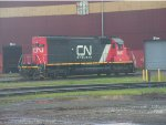 CN Power at Prcotor Yard