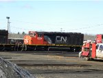 CN SD40 - 2W with CN Website