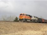 BNSF 5820 West on the Lakes Sub.