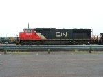 CN and IC Power at CN's Pokey Yard