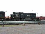 IC SD40 - 2 #6109 in the rain at CN's Pokey Yard