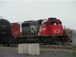 CN Power at CN's Pokey Yard