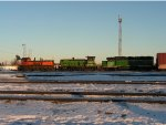 BNSF 3603, 3641, and 2280
