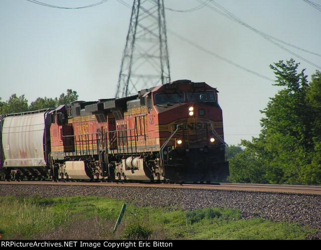 BNSF 4526 East