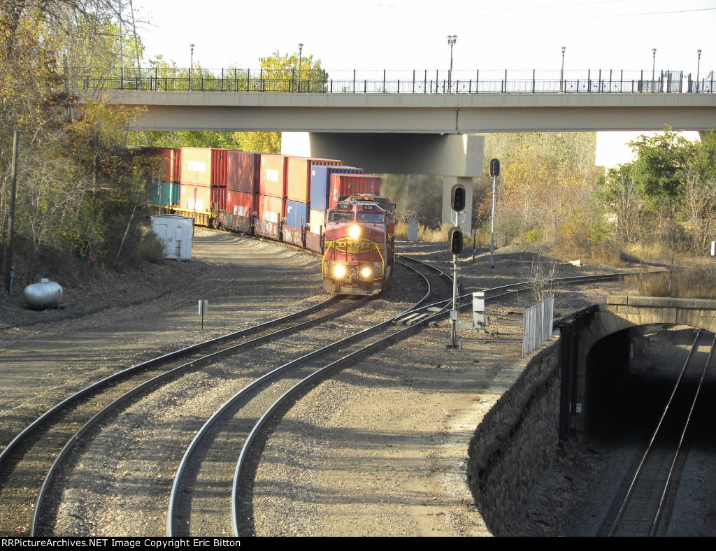 BNSF 636 and 4531