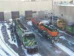 BNSF 7014 and others