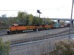 BNSF 7603 East