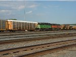 BNSF 7803 and 337