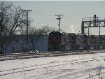 BNSF 789 West with Frosted Units