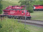 CP 8881 East meets CP 6009 West
