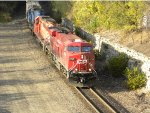 CP 8740 with a pair of vet SD40 - 2s