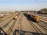 DPU on BNSF 5275 West meets BNSF 1808 Switch Job