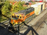 BNSF GP38 #2173 going to work