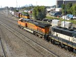 BNSF 6303 East meets BNSF 2737 Switch Job