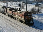BNSF 8623 North at Northtown