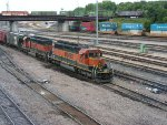 BNSF 6793 South at Northtown Yard