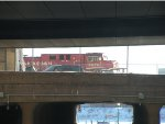 CP 8578 sitting close to the Robert Street Lift Bridge