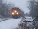 Winter on a branchline