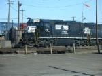 A Pair of ex CR(Nee-EL) SD45-2's rest at the Oak Island hump