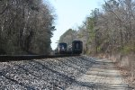 Amtrak Train 19 and 20 have a rolling meet at the Fleming siding at Tuscaloosa, AL