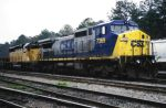 S/B train with CSX and UP power