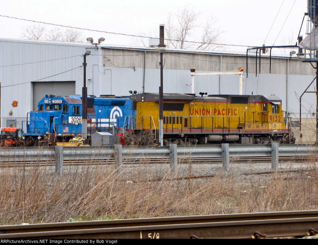 NS 3026 and UP 9132