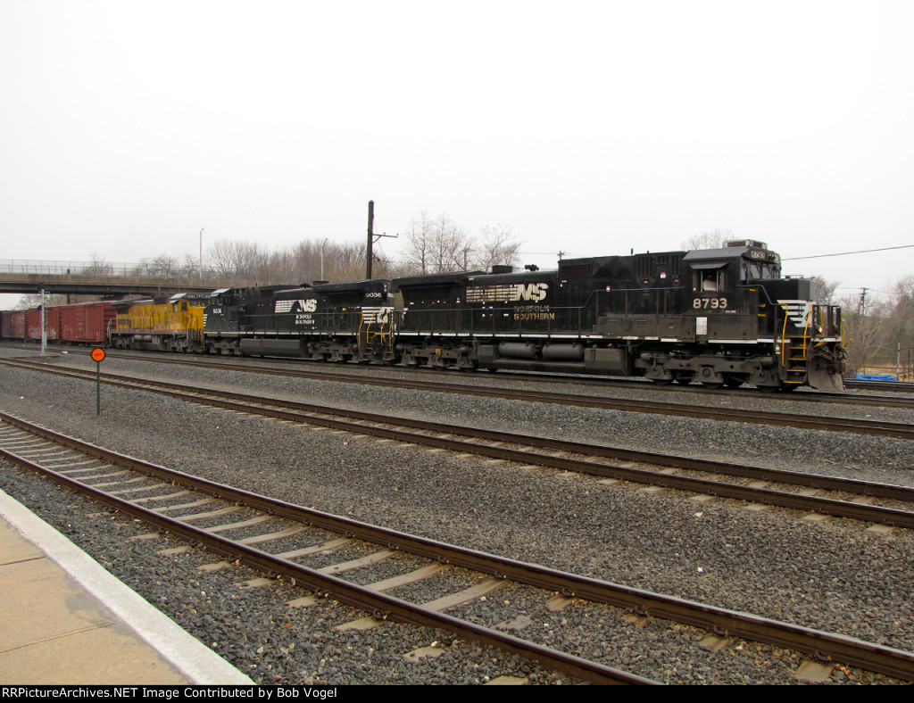 NS 8793 and 9036; UP 9132