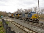 CSX 7651 and 802