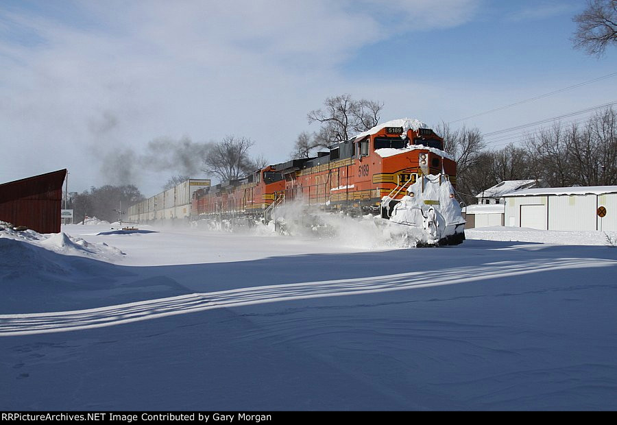 First Train After Blizzard Of 2011