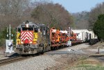 CITX SD40M-2 2788 leading 938 through Rockmart