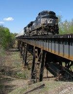NS 9023 leading 251 over the Chattahoochee