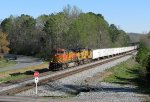 BNSF-UP combo leading 251