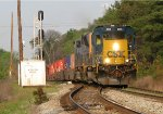 CSX 4004 leading Q141 past NE Red Oak