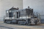 AGREX Inc (EMD SW1; 4743/1947, Ex SOU 2007) at the Agrex plant in Enola at the Nebraska Central line