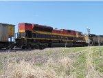 KCS Southern Belle on a UP coal drag