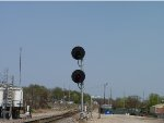Searchlight signal on the BNSF Cuba Sub